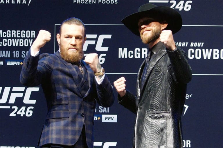 McGregor vs Cerrone UFC 246 betting picks