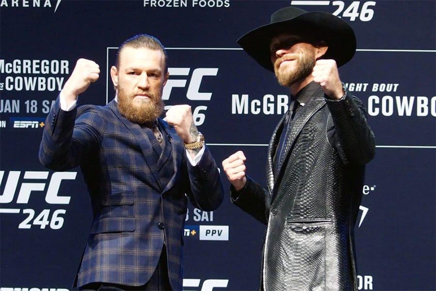 McGregor vs Cerrone UFC 246 betting picks