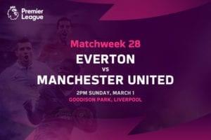 Everton vs Man United EPL betting tips