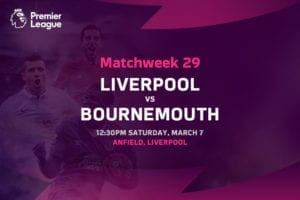 Liverpool vs Bournemouth EPL betting tips