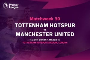 Spurs vs Man United EPL betting tips
