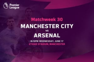 Man City vs Arsenal EPL betting tips