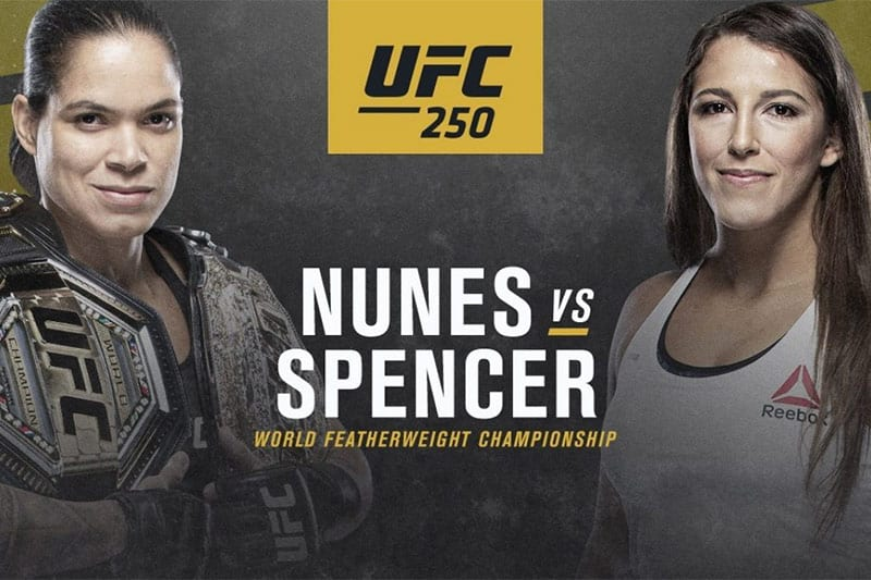 Nunes vs Spencer UFC 250 betting tips