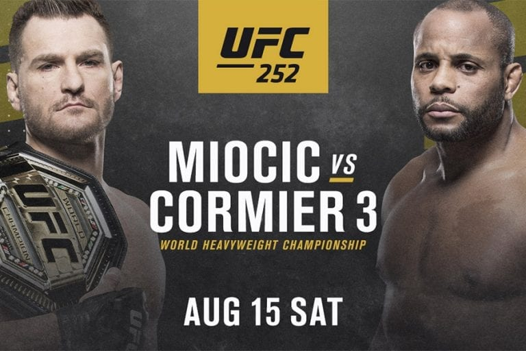 UFC 252 betting predictions