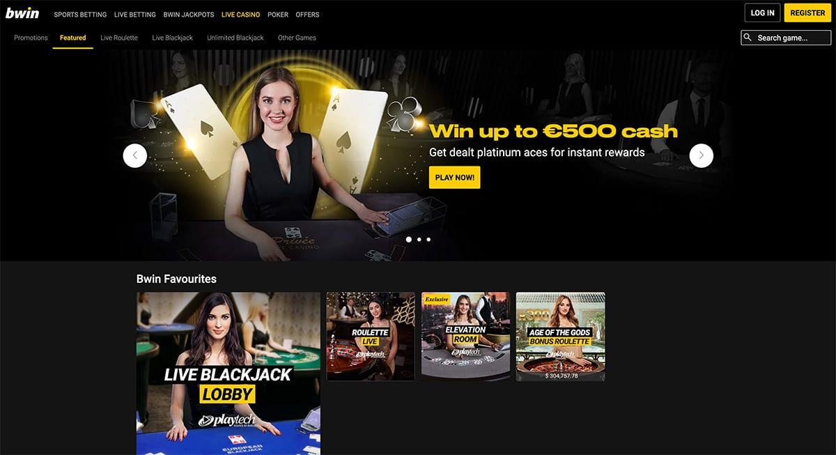BWIN Casino Live Dealer