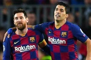 Messi Suarez Barcelona