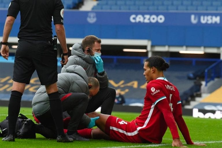 Van Dijk injury news