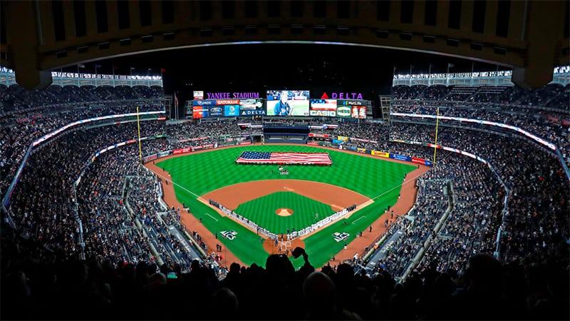 MLB Baseball Diamond