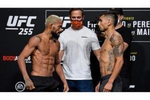 Deiveson Figueiredo vs. Alex Perez Main Event | UFC 255