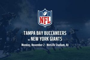 Tampa Bay Buccaneers @ New York Giants