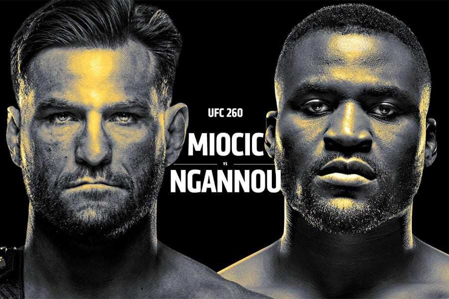 Stipe Miocic vs Francis Ngannou