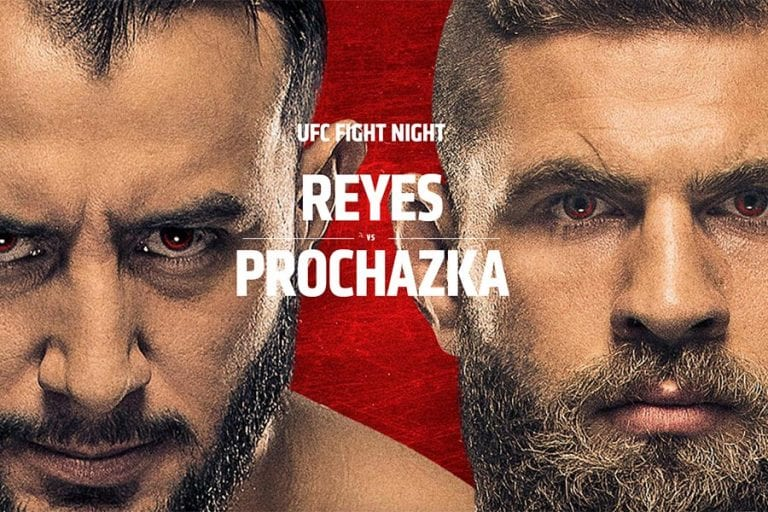 UFC Fight Night: Reyes vs Prochazka