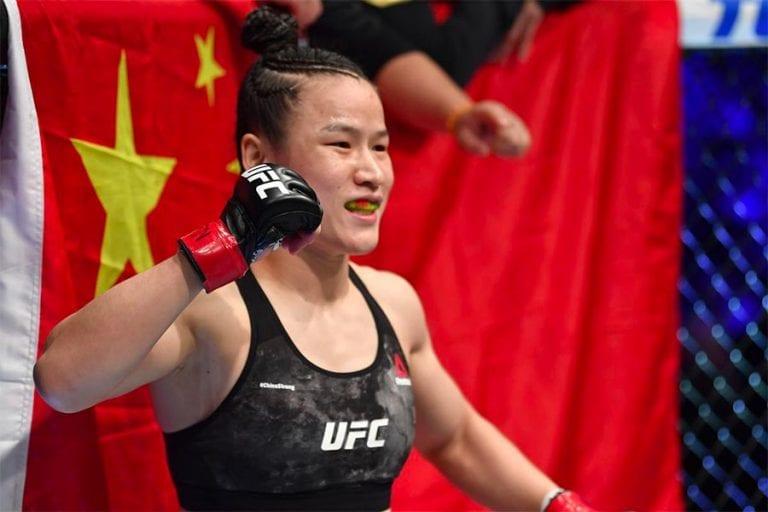 Weili Zhang UFC betting