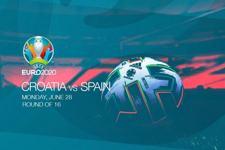 EURO 2020 - Croatia vs Spain