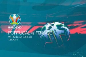EURO 2020 - Portugal vs France