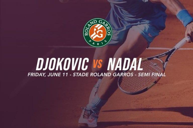 2021 French Open semi-finals - Djokovic vs Nadal