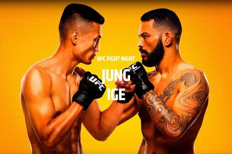 UFC Vegas 29: Jung vs Ige
