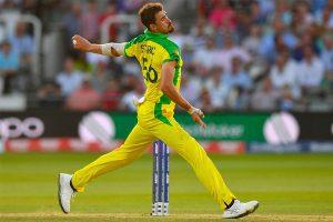 Australian bowler Mitchell Starc