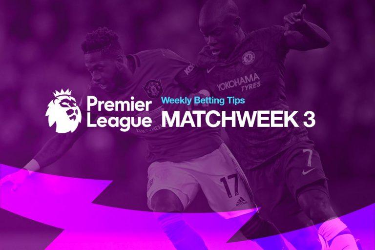 Best bets for Premier League MW3