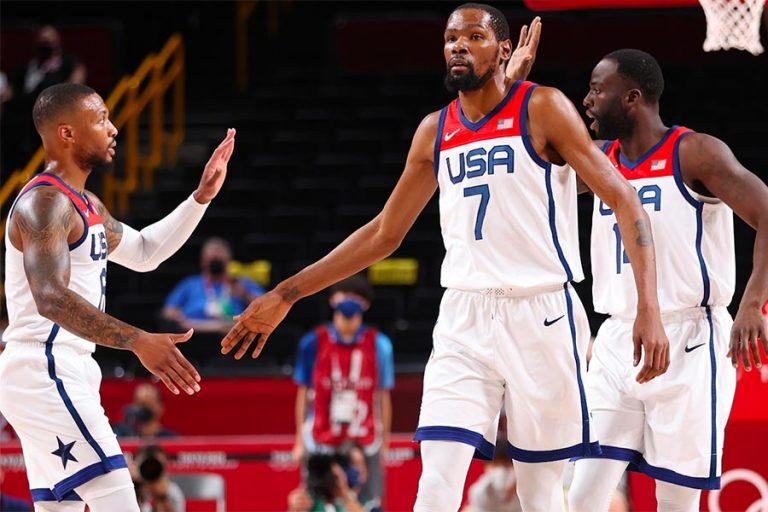 2020 Olympics men's basketball final