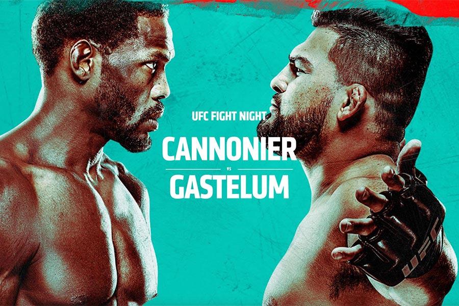 UFC Vegas 34: Jared Cannonier vs Kelvin Gastelum