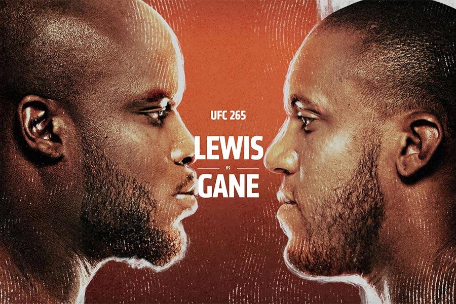 Ciryl Gane vs Derrick Lewis