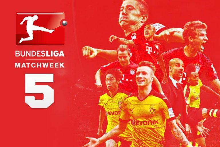 Best bets for Bundesliga MW5