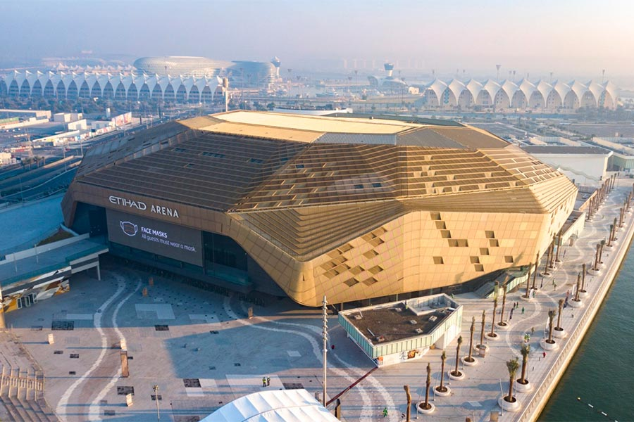 Etihad Arena - Abu Dhabi, UAE