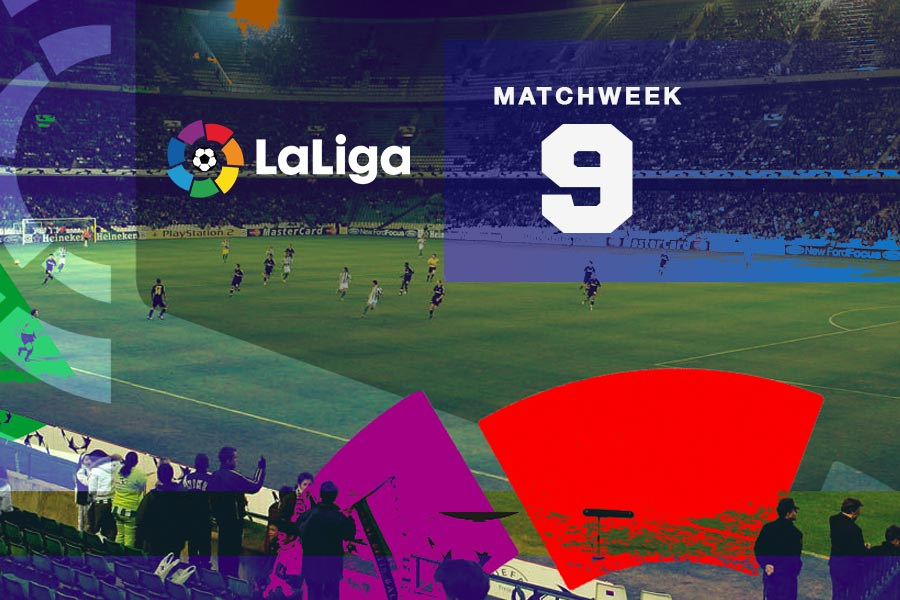 La Liga Matchweek 9 preview