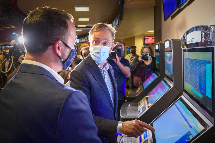 Governor Ned Lamont launches Sports Haven bookie